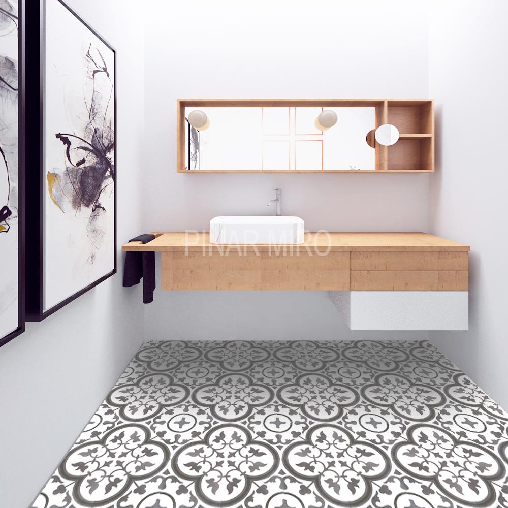 pinar miro baldosas hidraulicas t 143 permanent stock by pinar mir. Black Bedroom Furniture Sets. Home Design Ideas